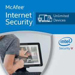 McAfee Internet Security 2018 Unlimited licencja na rok