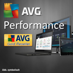 AVG Performance, 1 Year, Win/Mac/Android, English