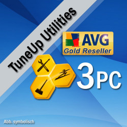 TuneUp Utilities 2016, 3 User, Win, English