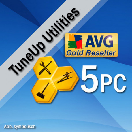 TuneUp Utilities 2016, 5 User, Win, English
