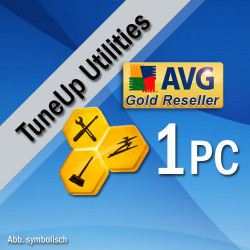 TuneUp Utilities 2016, 1 User, Win, English