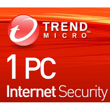 Trend Micro Internet Security 1 Device 1 Year