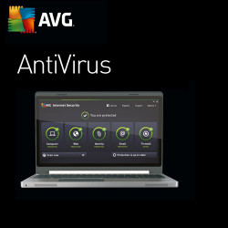 AVG AntiVirus 2016, 3 PC, 1 Year, Win, English