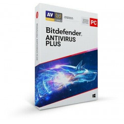 Bitdefender Antivirus Plus 2020 - 3 Devices 1 Year Email Delivery