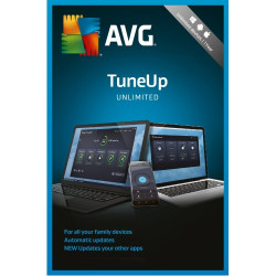 AVG TuneUp 2018 UnlimiteP6F8HTDd 2 Year Unlimited Devices