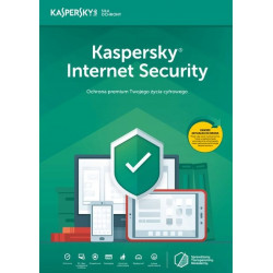 Kaspersky Internet Security 2020 - 1 Device - 1 Year - Antivirus and Secure VPN Included - PC/Mac/Android - Online Code