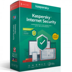 Kaspersky Internet Security 2020 - 5 Devices - 1 Year - Antivirus and Secure VPN Included