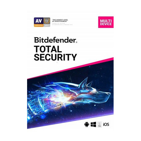 Bitdefender Total Security 2020 5 Device 1 Year