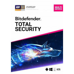 Bitdefender Total Security -10 Device 1 year Subscription - PC/Mac
