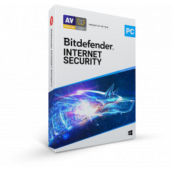 Bitdefender Internet Security - 3 Devices - 1 year Subscription