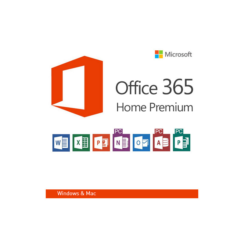 microsoft office 365 home premium en version 32 i 64 bit
